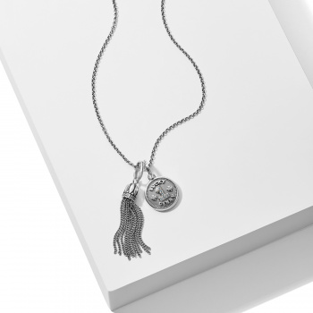 Lucky Silver Penny Necklace