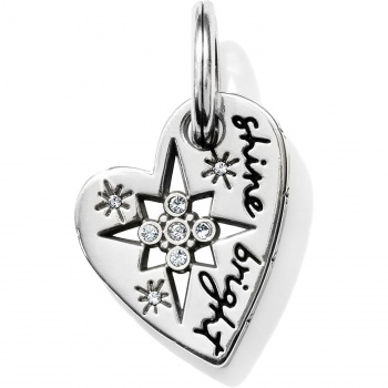Pole Star Heart Charm