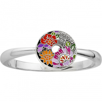 Africa Stories Floral Hinged Bangle