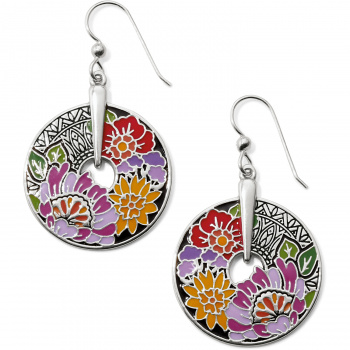 Africa Stories Floral French Wire Earrings