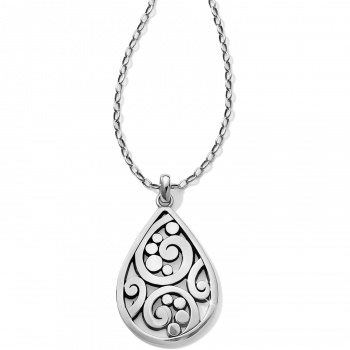 Contempo Contempo Convertible Teardrop Necklace