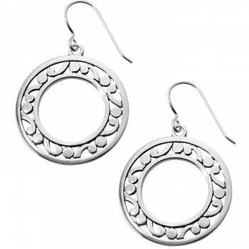 Contempo Contempo Open Ring French Wire Earrings