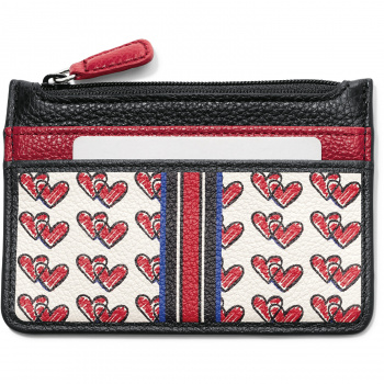 Fashionista Love Doodle Card Coin Case