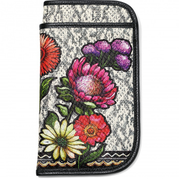 Africa Stories Flower Double Eyeglass Case