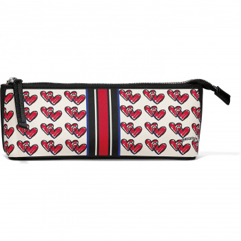 Love Doodle Small Cosmetic Pouch