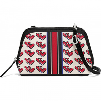 Fashionista Love Doodle Convertible Cosmetic Pouch