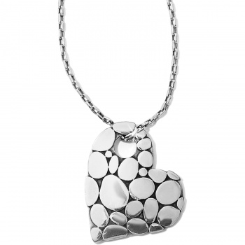 Pebble Pebble Heart Necklace