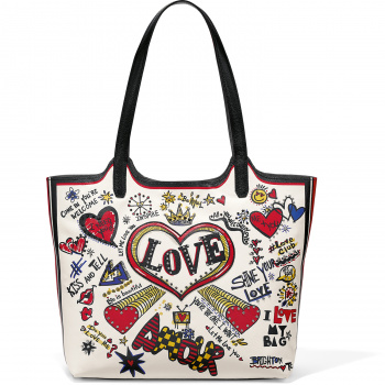 Love Doodle Large Tote