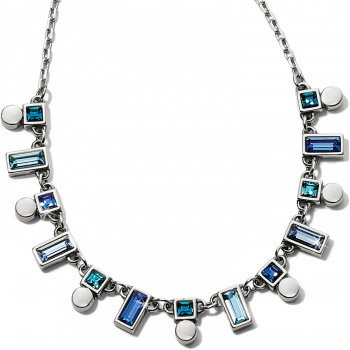 Blue Showers Collar Necklace
