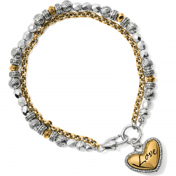 Gleam On Love Bracelet
