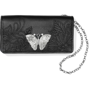 Petalwings Embroidered Rockmore Wallet