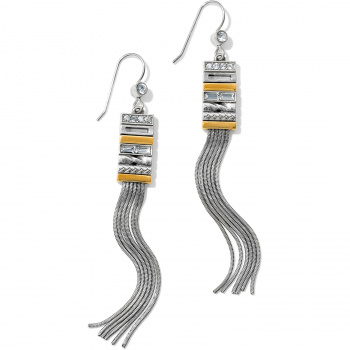 Tapestry Slim Fringe French Wire Earrings
