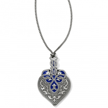 Royal Brocade Heart Short Necklace