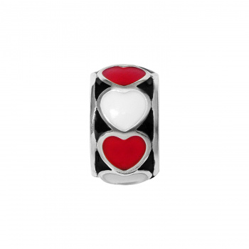 Fashionista Fashionista Red Heart Spacer