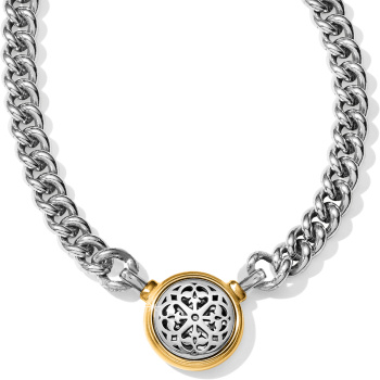 Ferrara Two Tone Necklace