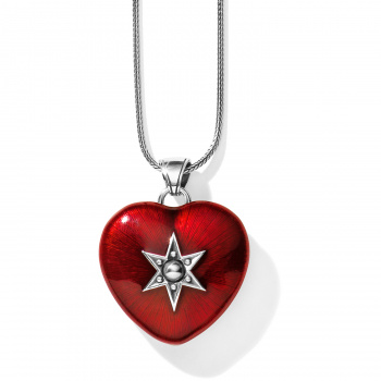 Brighton's Love Lockets Loving Heart Convertible Locket Necklace