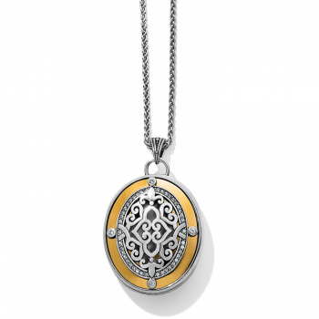 Brighton's Love Lockets Intrigue Convertible Locket Necklace