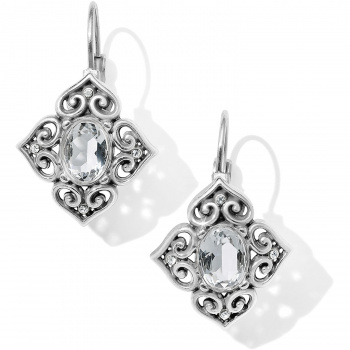Alcazar Chrystalline Leverback Earrings