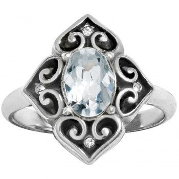 Alcazar Chrystalline  Ring