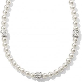 Meridian Meridian Petite Pearl Station Necklace