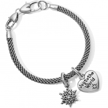 Joy To The World Charm Bracelet