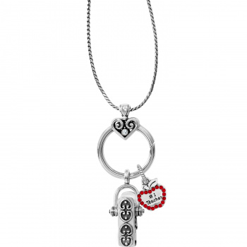 Teacher Heart Alcazar Charm Badge Clip Gift Set