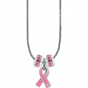 Power of Pink Ribbon Vivi Necklace