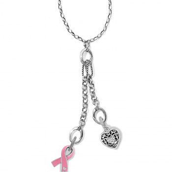 Power of Pink Ribbon Lillian Necklace