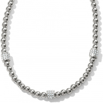Meridian Meridian Petite Beads Station Necklace