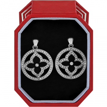 Toledo Alto Noir Post Drop Earrings Gift Box