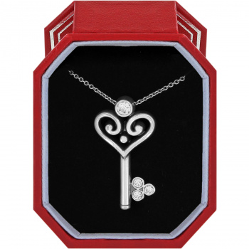 Alcazar Alcazar Heart Key Necklace Gift Box