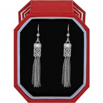 Baroness Tassel French Wire Earrings Gift Box