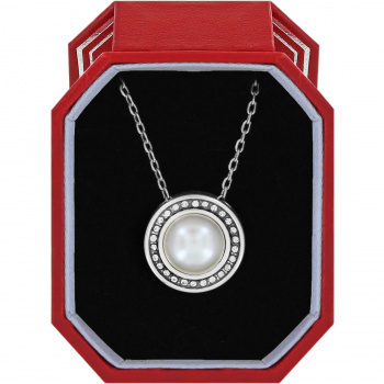 Chara Ellipse Pearl Short Necklace Gift Box