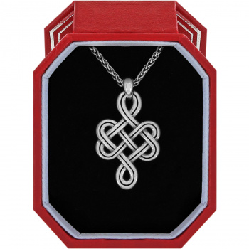 Interlok Endless Knot Petite Necklace Gift Box