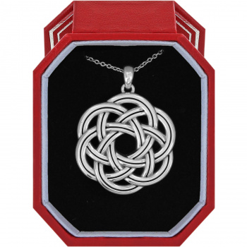 Interlok Eternity Circle Necklace Gift Box
