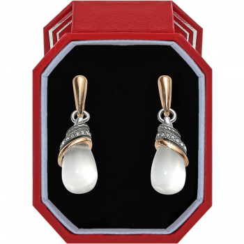 Neptune's Rings Crystal Teardrop Earrings Gift Box