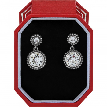 Twinkle Duo Post Drop Earrings Gift Box