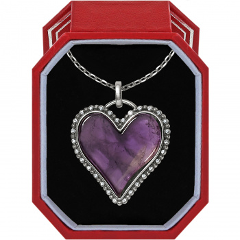 Twinkle Amor Amethyst Necklace Gift Box