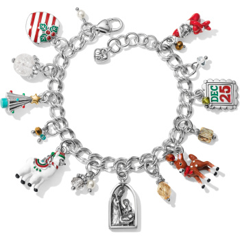 Christmas Traditions Charm Bracelet