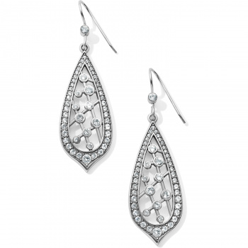 Sparkle Collective Empress French Wire Drop Earrings