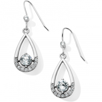 Sparkle Collective Majesty French Wire Drop Earrings