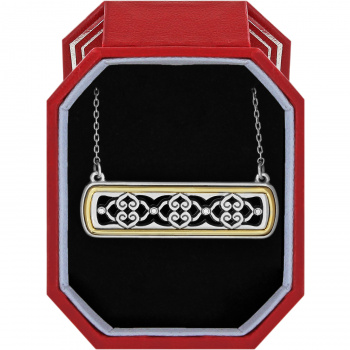 Intrigue Bar Reversible Necklace Gift Box