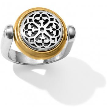 Ferrara Two Tone Reversible Ring