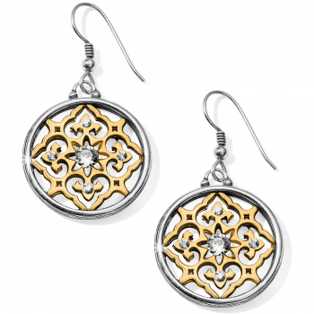Journey to India Indian Souvenir French Wire Earrings