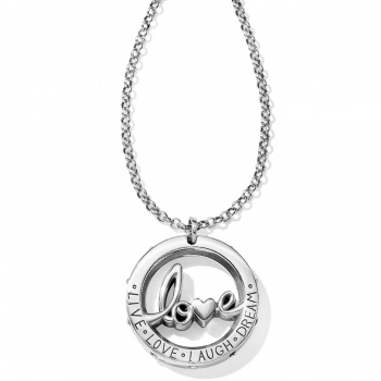 Love You Pendant Necklace