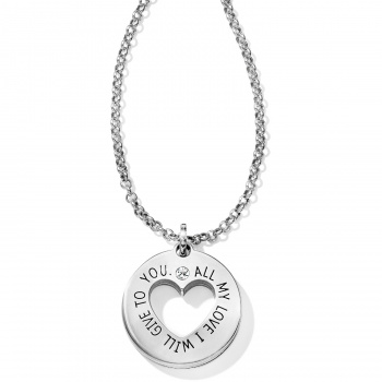 Fashionista Circle Of Love Pendant Necklace