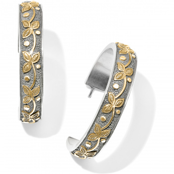 Udaipur Palace Hoop Earrings