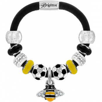 Sports Team Charm Woodstock Bracelet