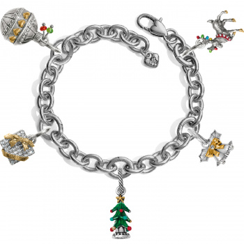 Seasonal Joy Charm Bracelet