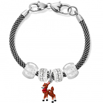 Holiday Deer Charm Bracelet